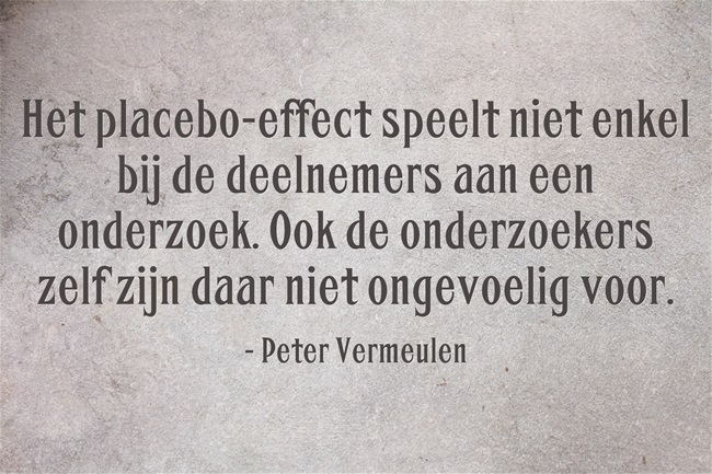Het placebo-effect