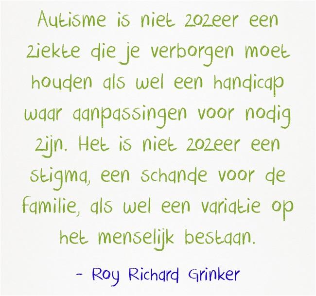 Roy Richard Grinker is auteur, professor antropologie, en vader van een dochter met autisme.