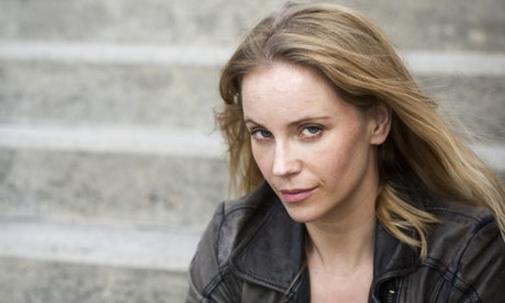 Sofie Helin in The Bridge