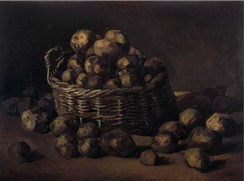 aardappelmand van gogh
