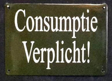 consumptie verplicht