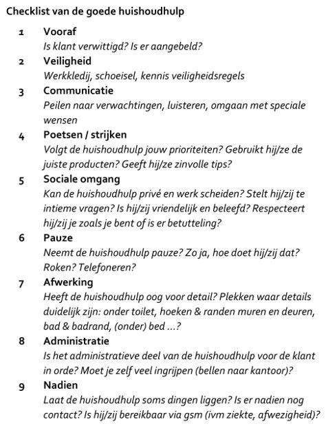 checklist-goede-huishoudhulp