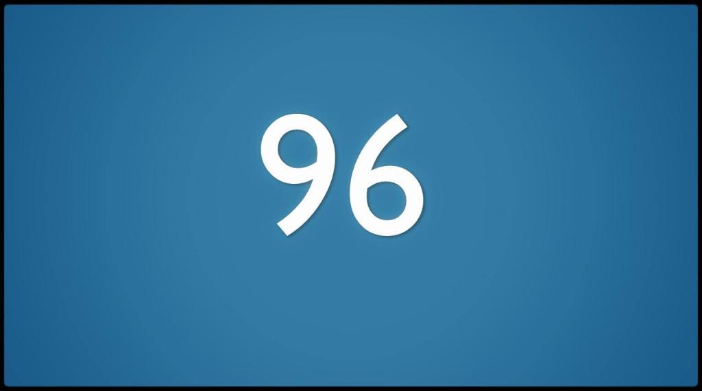 Nummer 96, speciaal ontworpen voor (c) Tistje.com